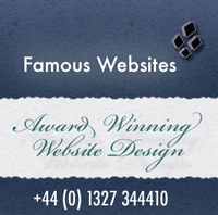 Famous Websites, web designers, Cardiff, Daventry, Brackley, Rugby, Northampton, Milton Keynes